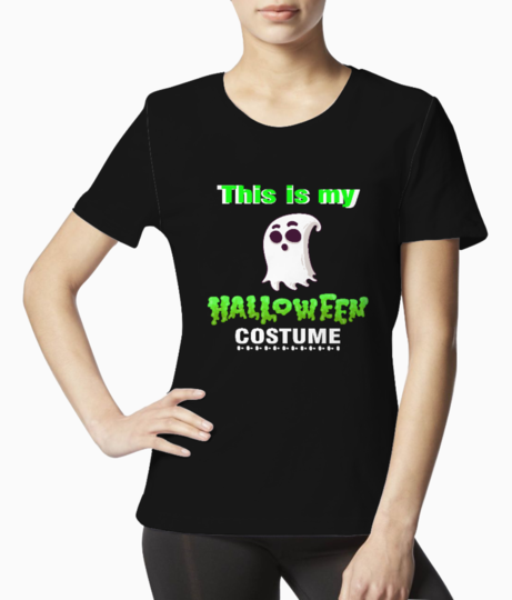 This is my halloween costume tee front