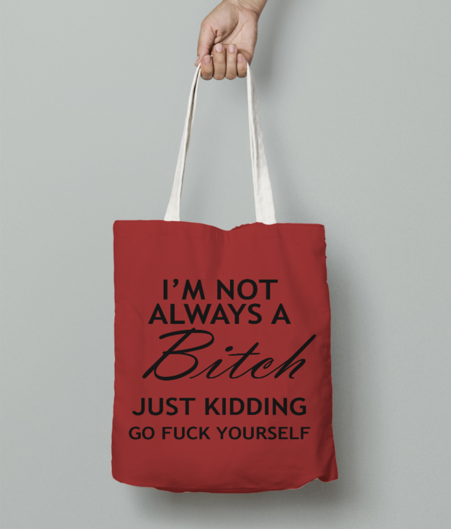Always tote bag front
