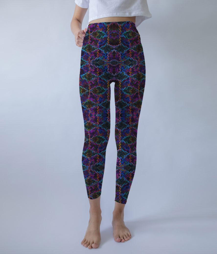 Cube haze evo leggings front