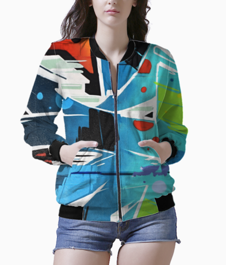 Color jackie bomber front