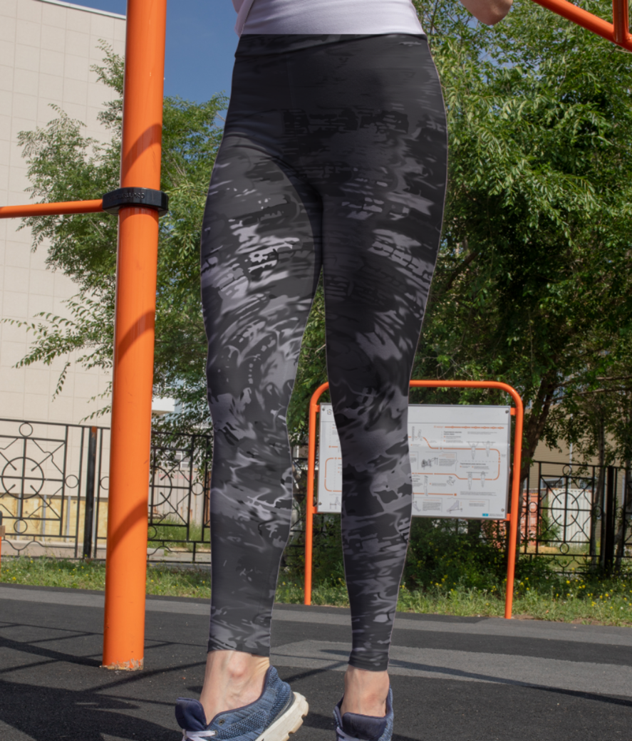 Abs 7 leggings front