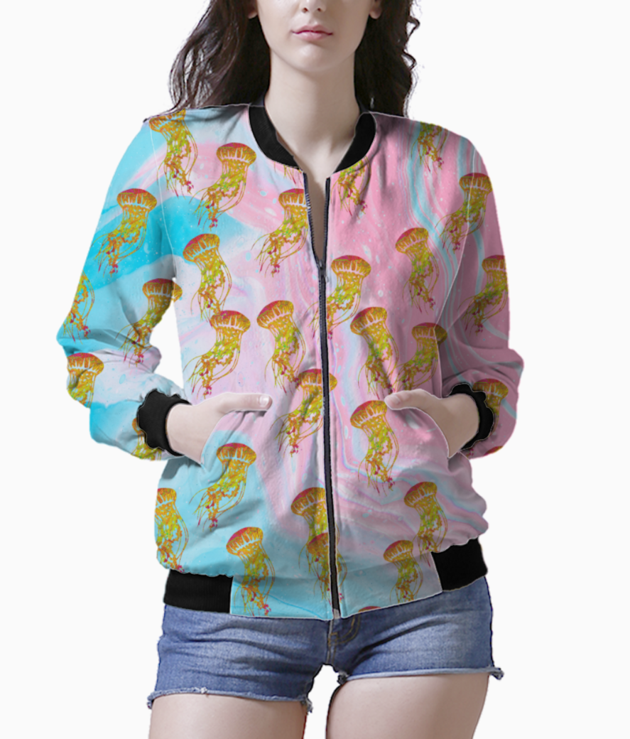 Jelly dance flow bomber front