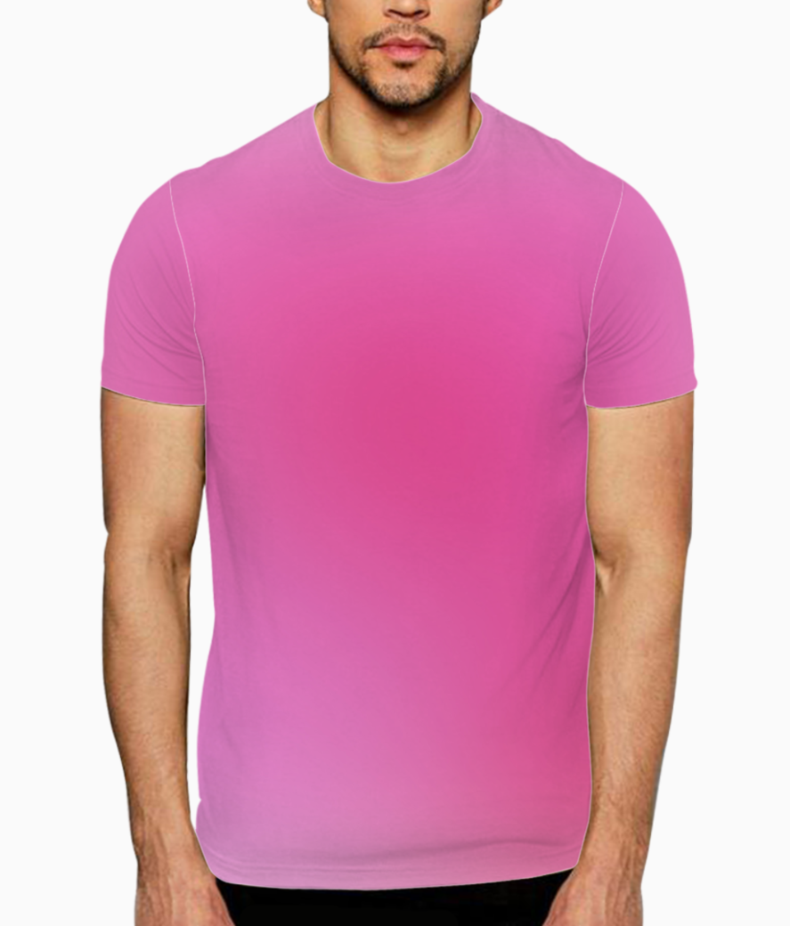 Rose gradient abstract t shirt front