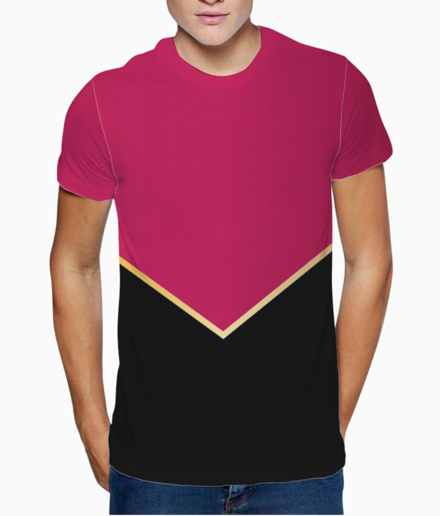 Ruby modern abstract t shirt front