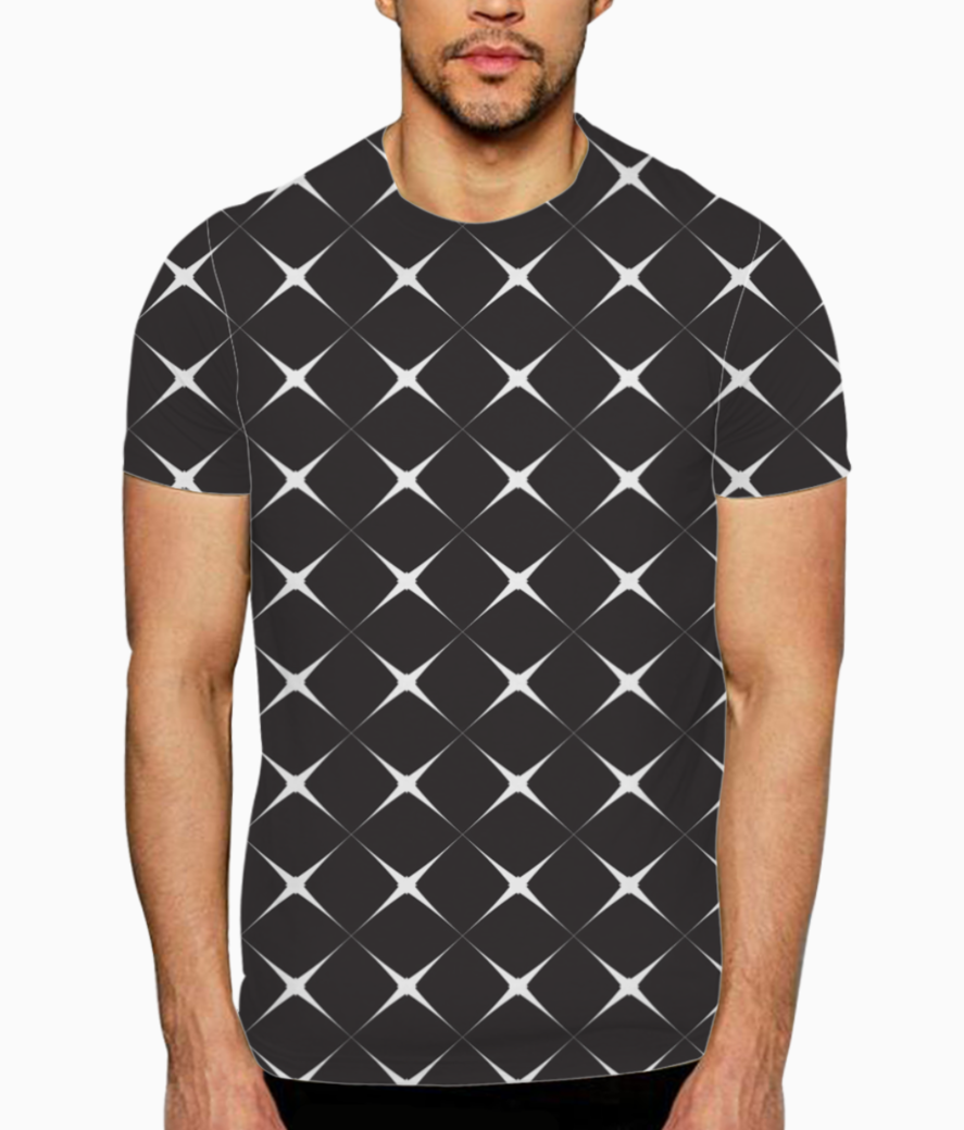 Sparking seamless pattern t shirt front