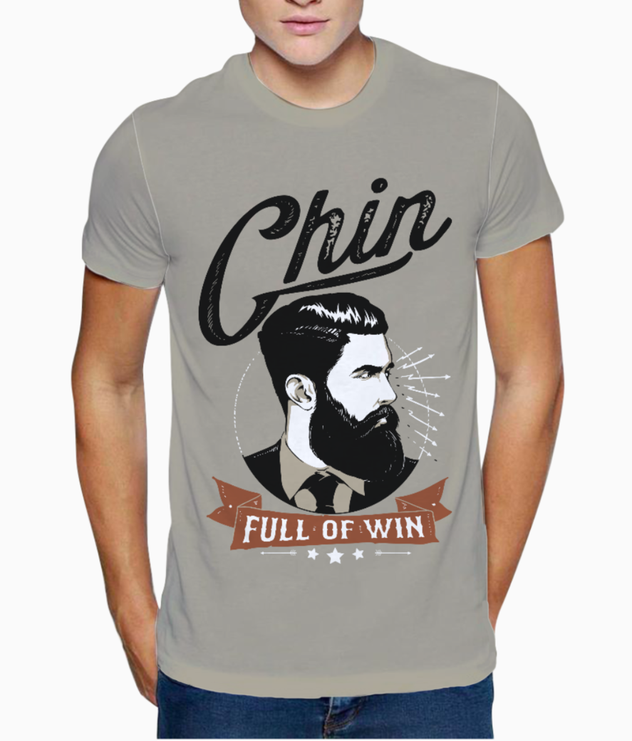 Chin full of win 2 t shirt front