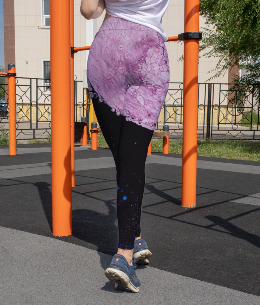 Sphere jerry leggings back