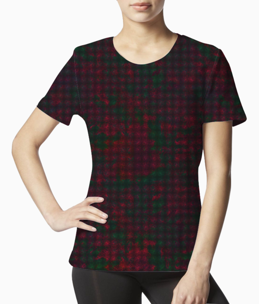 Checkers tee front
