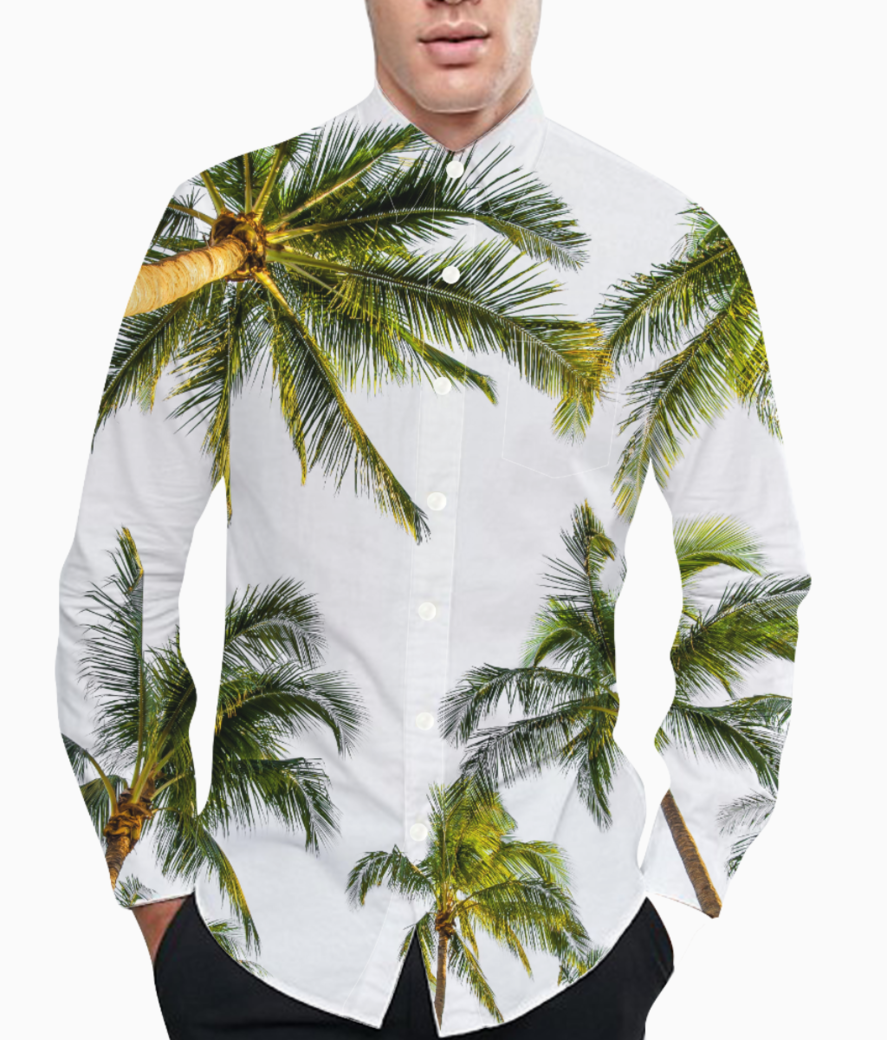 Coconut fall basic shirt front