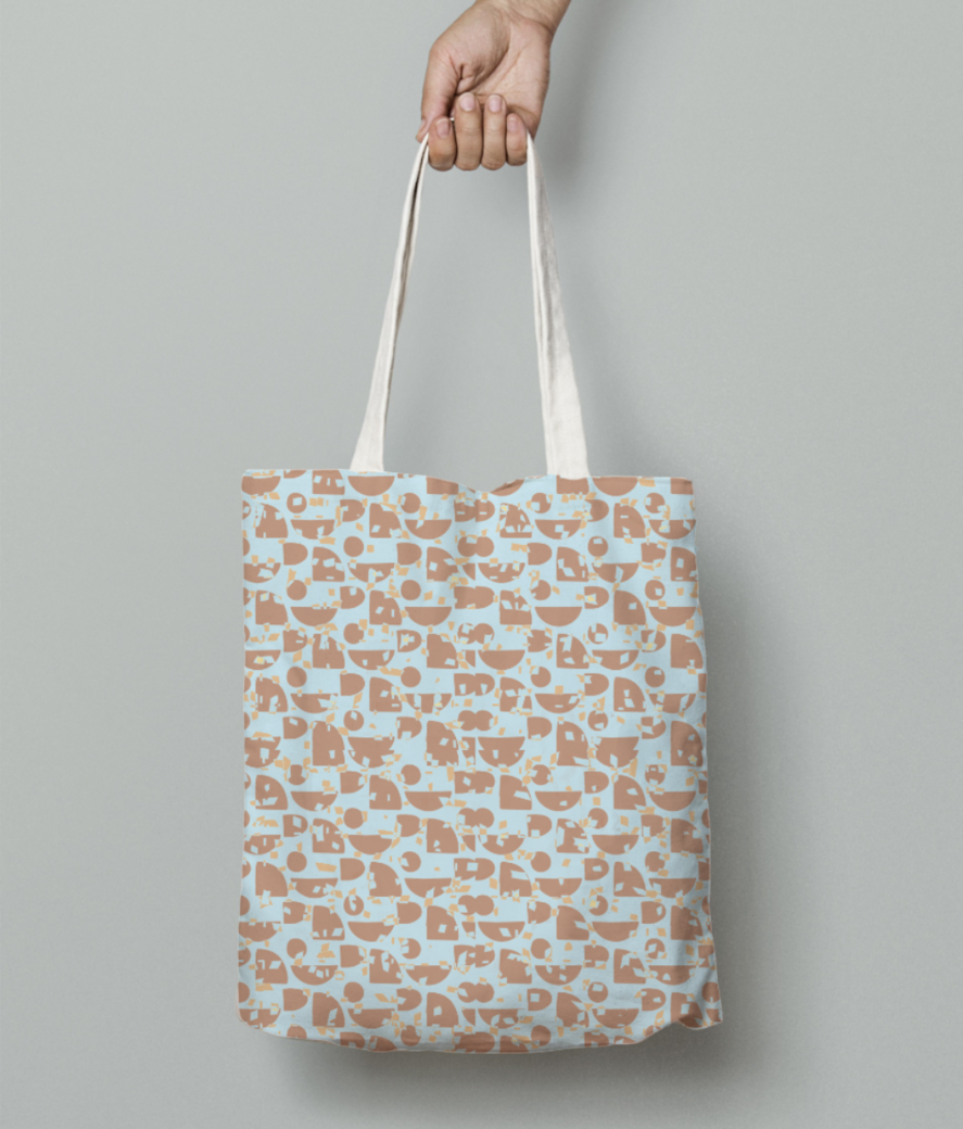 Masala chaat tote bag front