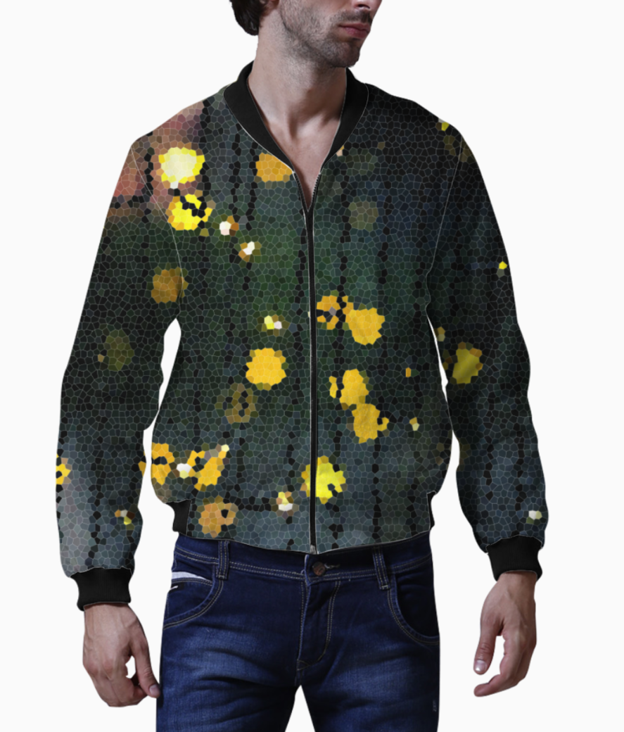 Dazzled darkness bomber front
