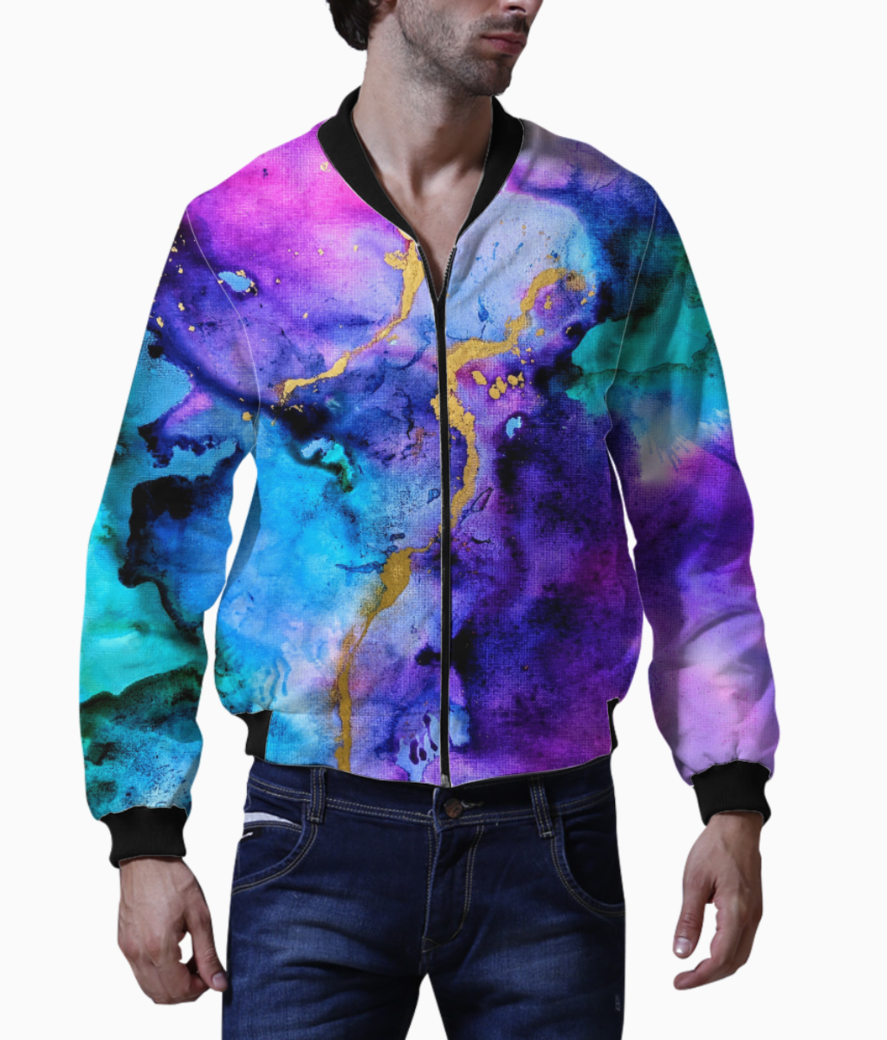 Blues and more bomber front