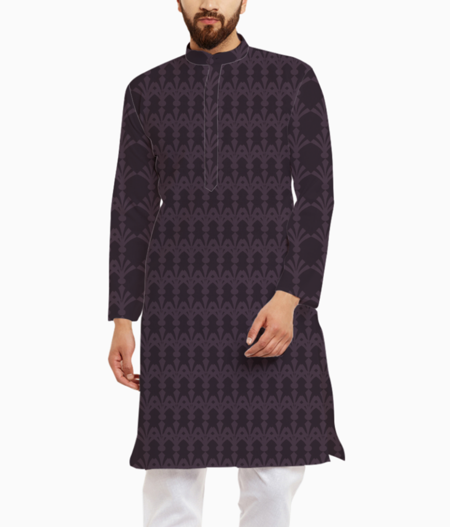 All over kurta front