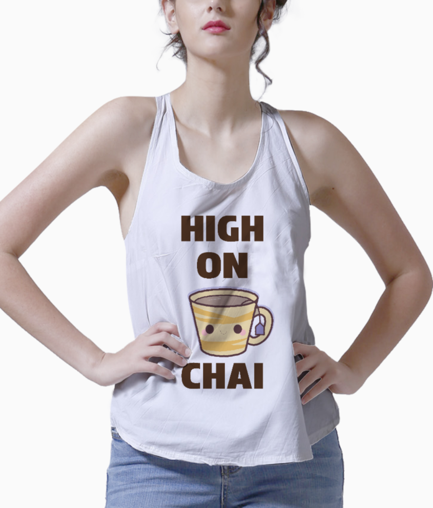 High on chai tank front