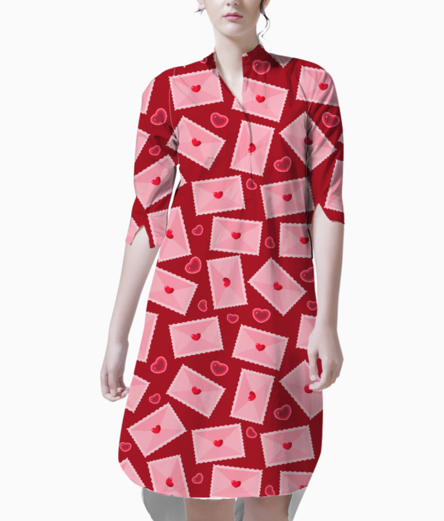 Love letters kurti front