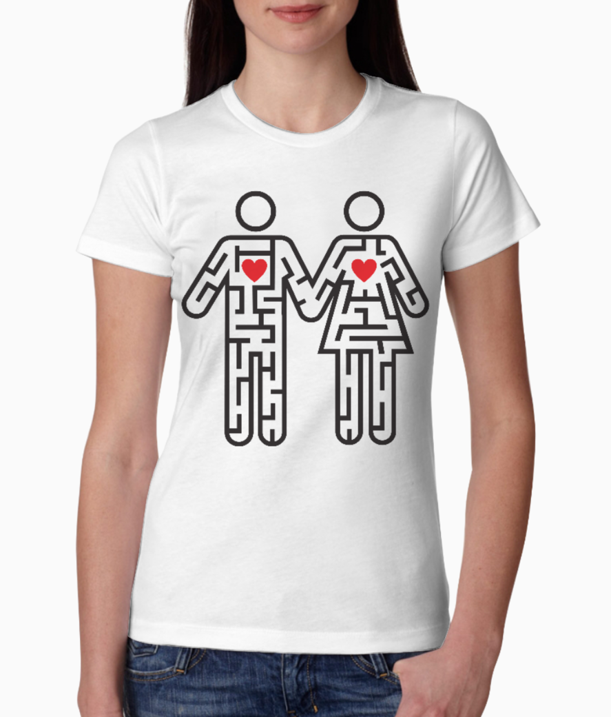 Couple tee front