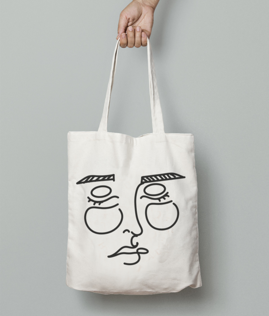 Disghn 7 tote bag front