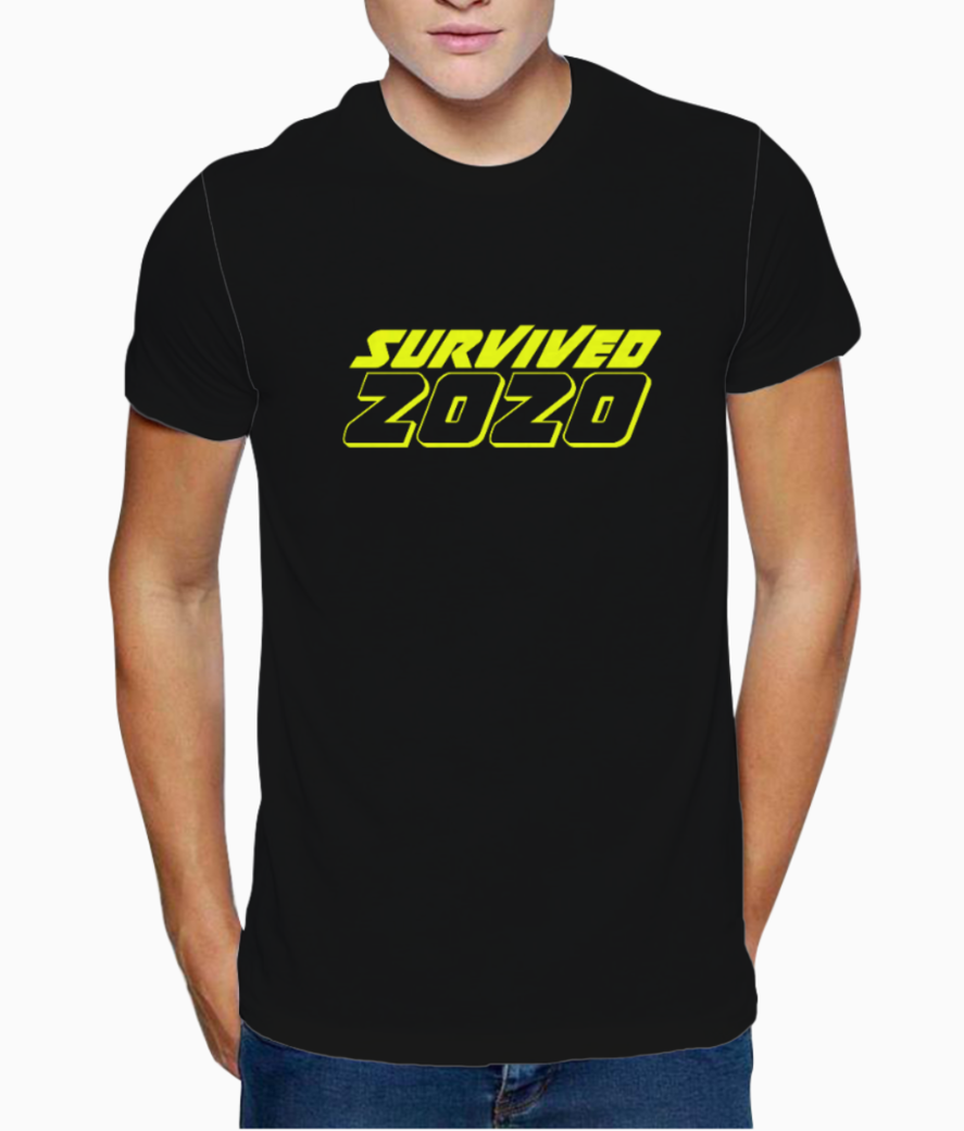 Survived 2020 copy t shirt front